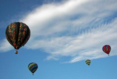 Balloons at the Crown of Maine Balloon Festival held this weekend. Photo by Kelly McInnis