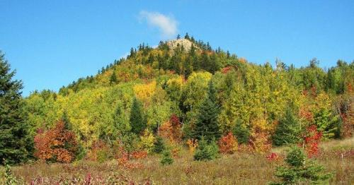 Here's another view of Haystack Mountain along the road between Ashland and Presque Isle. Photo by Kelly McInnis